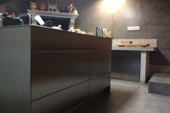 suelo microcemento cocina